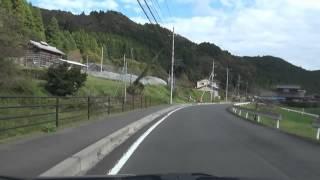 県道を走る:栃木・茨城県道12号 那須烏山御前山線 2014年11月