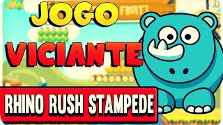 Jogo Viciante - Rhino Rush Stampede
