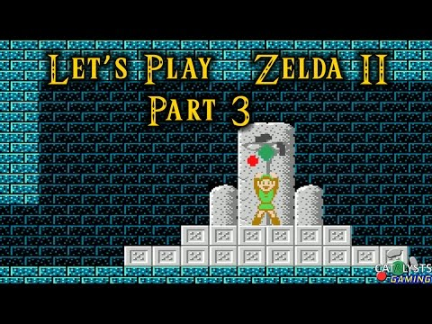 Let's Play Legend of Zelda II (NES) Part 3: The Palace of Restarting