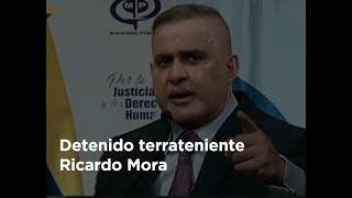 Detenido terrateniente Ricardo Mora