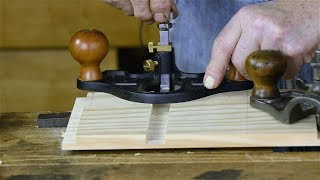 Make a Dado Joint using a Router Plane w/ Bill Anderson