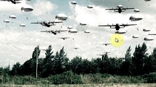 Free Stock Footage Green Screen Airplanes and Paratroopers + Tutorial