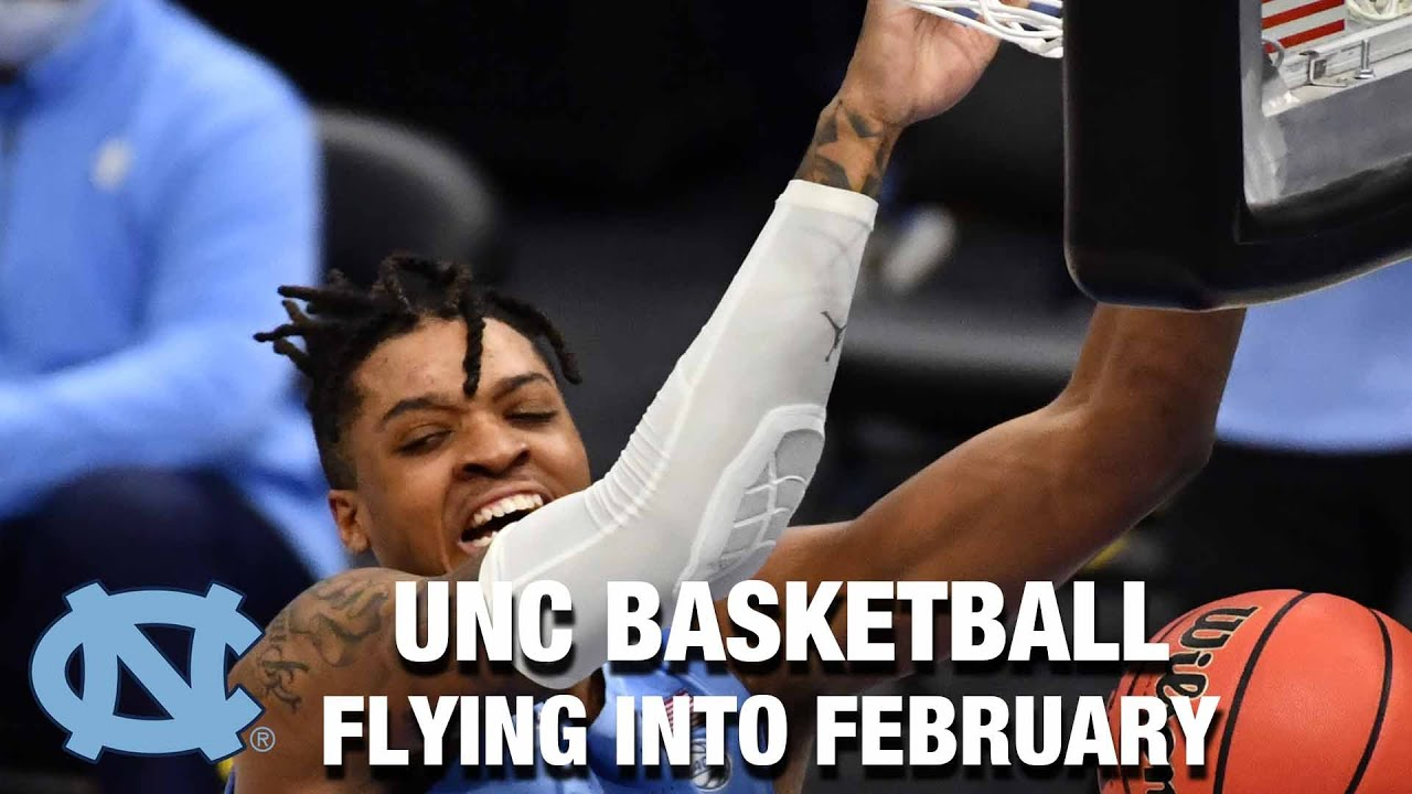 Video: UNC Basketball Flying Into February