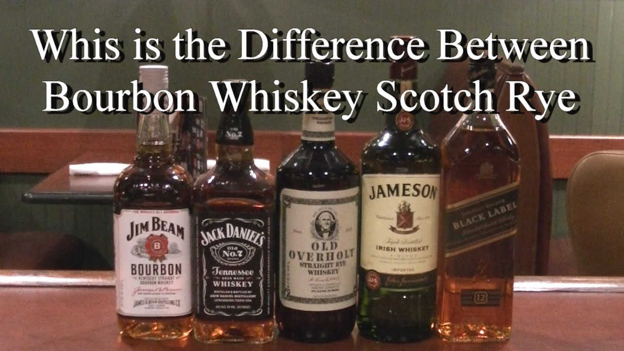 What is the Difference Between Bourbon Whiskey Rye and ...