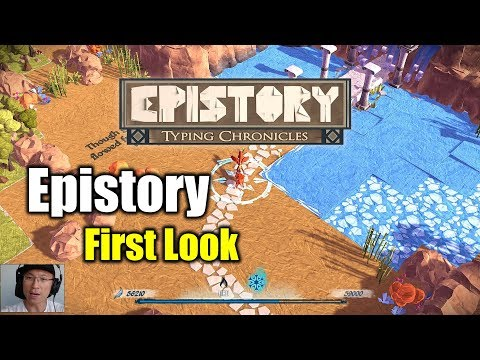 [Epistory] A Game for the Typing Enthusiasts / First Look |