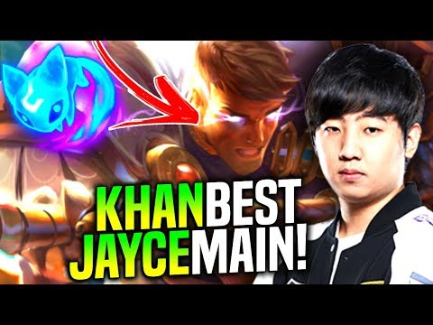 Khan is a Beast with Jayce! - When Khan Picks Jayce Top! | SKT T1 Replays
