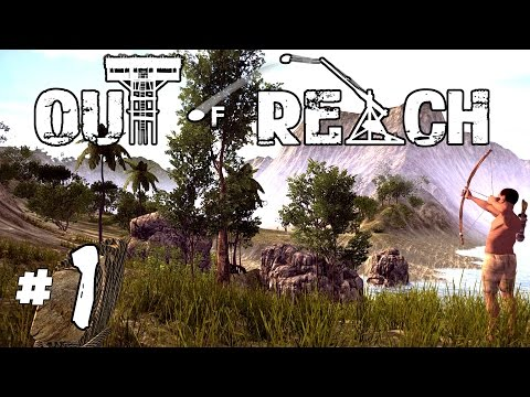 Out of Reach - Ep. 1 - Castaway Survival! - Let's Play Out of Reach Gameplay - Sponsored