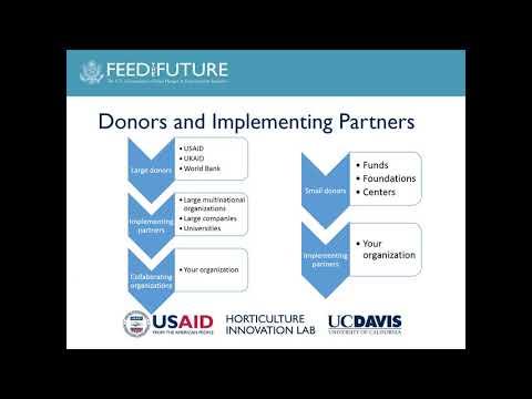 How To Find Grants For International Ag Development (Hort4Dev Webinar)
