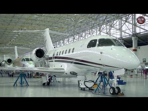 Como é Construído um Avião na Fábrica da Embraer?