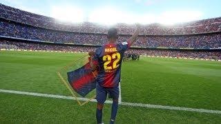 FC Barcelona - Comiat del Camp Nou a Éric Abidal