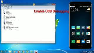 How to Install ADB Driver In Windows7/Vista/8/8.1/10
