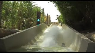 Wild Wadi Water Park in Dubai with POV Video