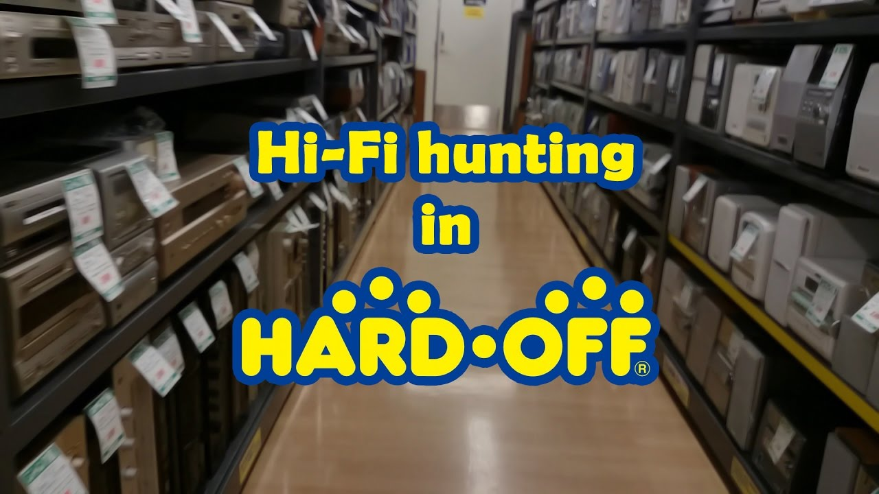 Hifi Shop 24 Hi Fi Buying At Hard Off Japanese Hardware Recycle Store