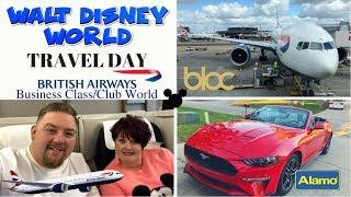 Walt Disney World 2018 - Travel Day - British Airways Club World