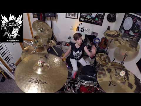 "11 year old Alex Shumaker ""Black Hole Sun"" Soundgarden"""