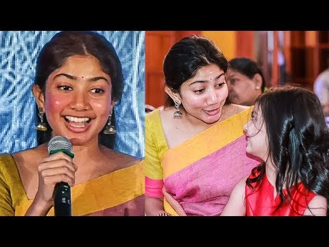I'm Here Only because Of Tamil Audiences | Sai Pallavi | AL Vijay | Karu Audio Launch