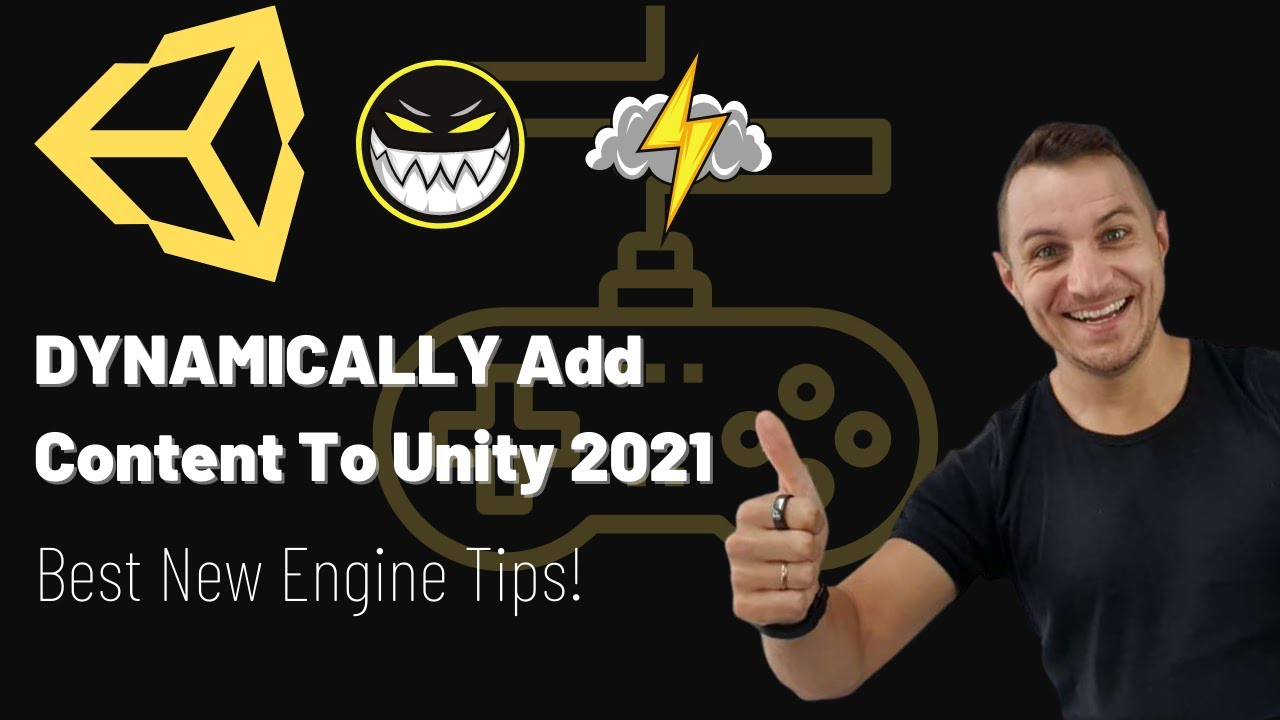 How To Dynamically Add Content To Unity 2021! (Best New Engine Tips!)