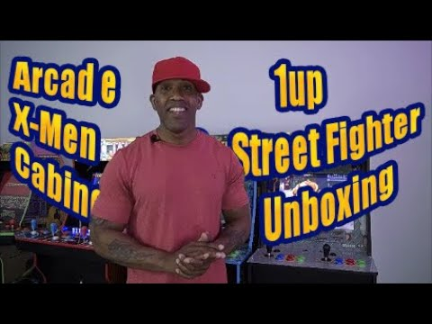 Arcade 1Up X Men Vs Street Fighter Cabinet Unboxing from LAWD Collectibles