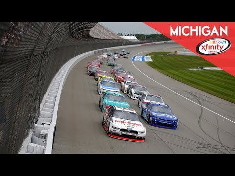 NASCAR XFINITY Series- Full Race -Race at Michigan
