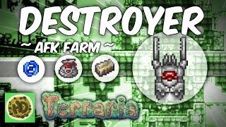 Terraria AFK Destroyer Farm | 1.3 Mechanical Bosses | Expert