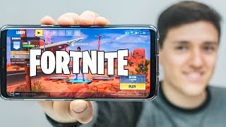 ¡Fortnite en Android! | Performance + Gameplay