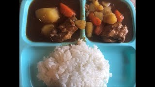 HOW TO MAKE JAPANESE CURRY SOUP AND RICE