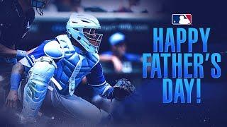 MLB celebrates Father's Day!