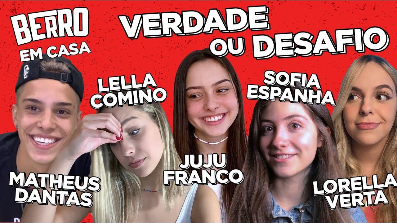 CRUSH do MOMENTO? JUJU FRANCO, SOFIA ESPANHA, DANTAS, LELLA, LOLLA contam TUDO no VERDADE ou DESAFIO