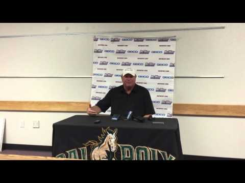 Steve Sampson Post-Game Comments - 11/7/2015 - Cal Poly vs. UC Irvine