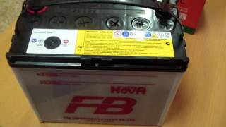Аккумулятор Furukawa Battery FB SUPER NOVA 55B24L