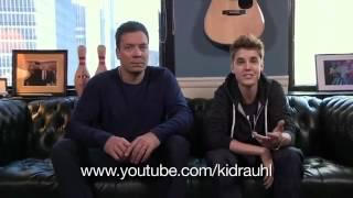 Justin Bieber Speaking On You Asking Him Qs