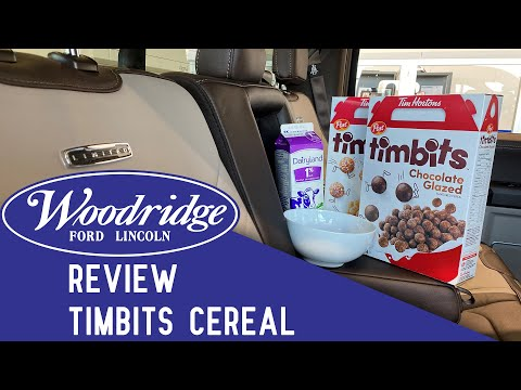 Woodridge Ford Reviews: Timbits Cereal in an F-150 Limited