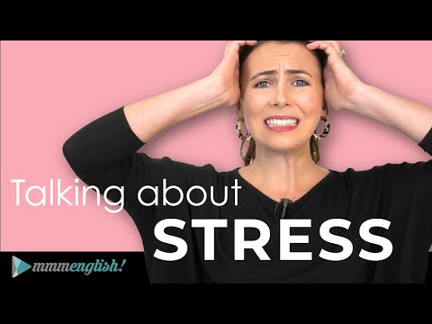 I'm at BREAKING POINT! ?? English Idioms & Phrases about STRESS