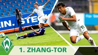 VfL Osnabrück - SV Werder Bremen 0:3 | 1. Zhang-Tor für Werder | Highlights