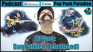 Dan Palmer von Zebrahead / Death by Stereo zu Gast – P4Cast #59