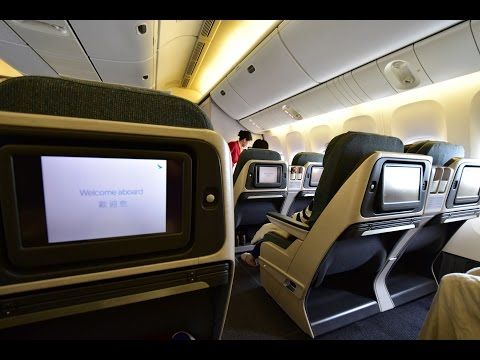 Business Class | Cathay Pacific CX536 Hong Kong to Nagoya Boeing 777-200 (Review #23)