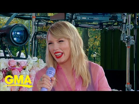 Taylor Swift says she&39;ll re-record her old s   on GMA