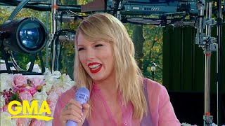 Gambar cover Taylor Swift says she'll re-record her old albums | Live on GMA