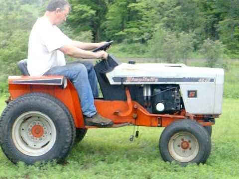 Pulling Tractors For Sale >> 1972 Simplicity 4040 Powermax garden tractor - YouTube