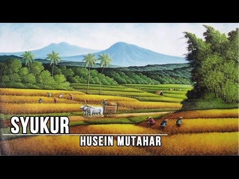 [Midi Karaoke] ♬ Husein Mutahar - Syukur ♬ +Lirik Lagu [High Quality Sound]