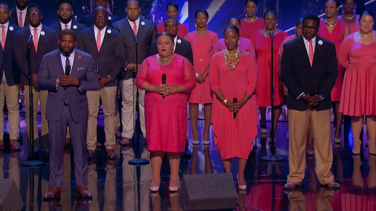 Americas got talent 2017 gospel choir - Danell Daymon Greater Works Choir Delivers Brilliant Performance America S Got Talent 2017