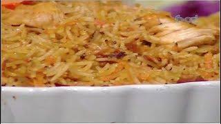 طريقه عمل أرز الدجاج على الطريقه الروسيه للشيف سارة عبد السلام على فوود