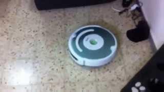 Робот-пылесос iRobot Roomba 521 видео(Роботы-пылесосы по ценам производителя в интернет-магазине http://vk.cc/1VN4VH Робот-пылесос iRobot Roomba 521 - отличный..., 2013-10-26T11:50:14.000Z)