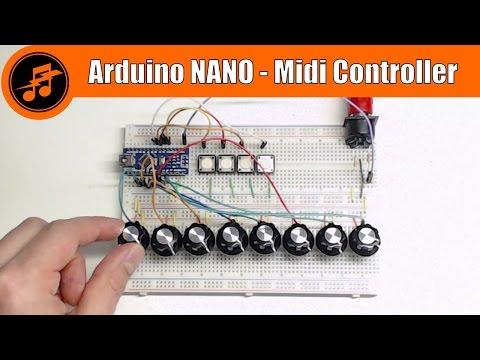 LIVE from the Lab: Arduino NANO Midi Controller