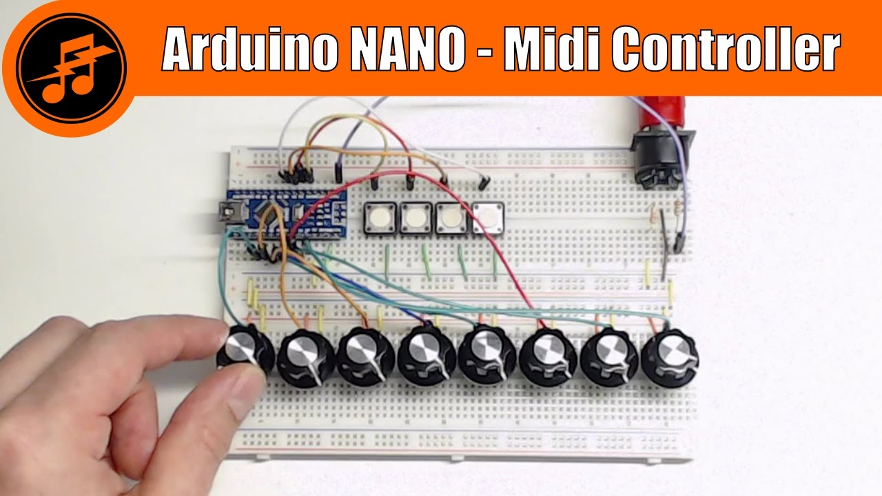 how to make a midi controller with arduino