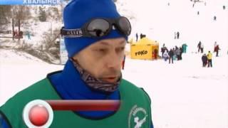 В выходные в Хвалынске стартовал горнолыжный сезон
