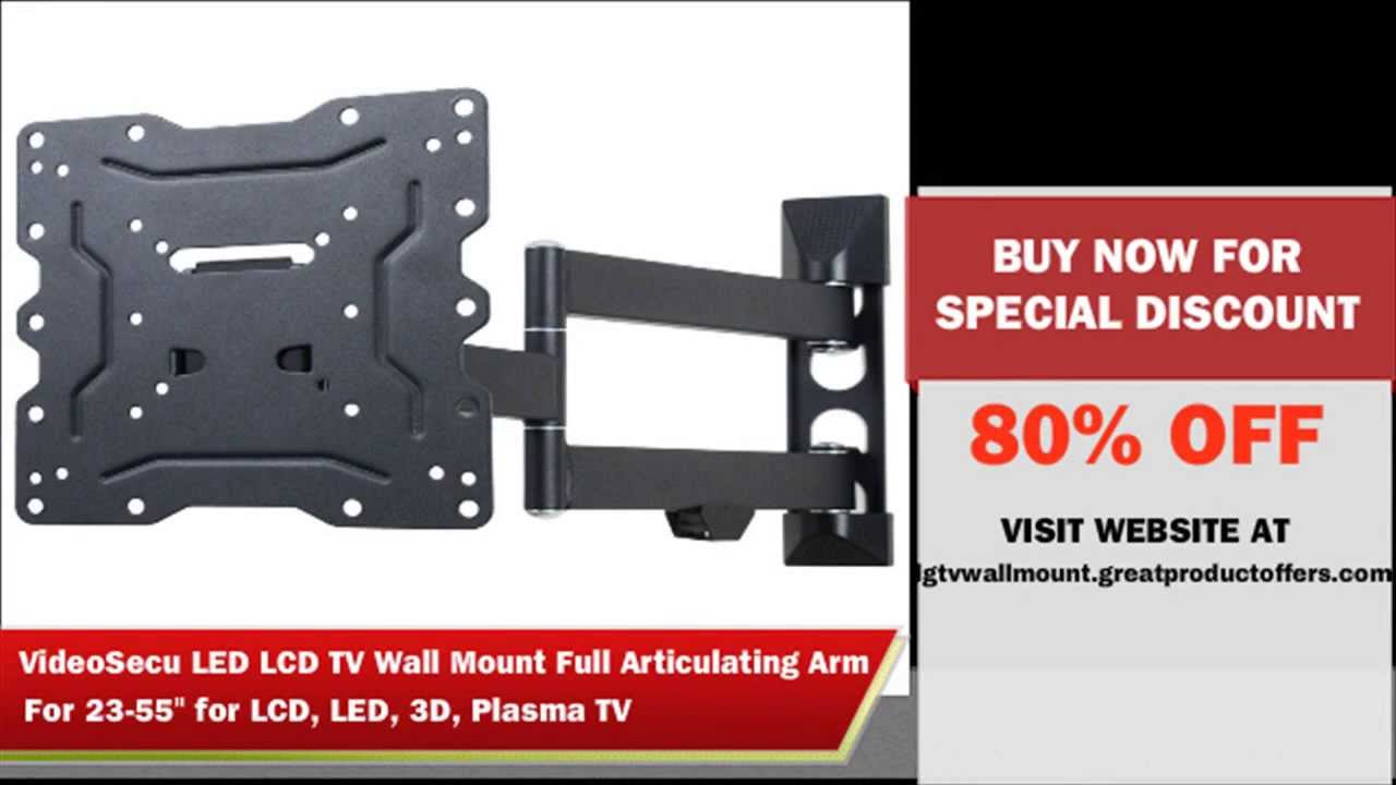 LG TV Wall Mount | LG TV Wall Mounting Review - YouTube