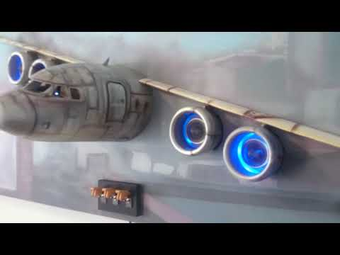 Aeroplane 3D Art