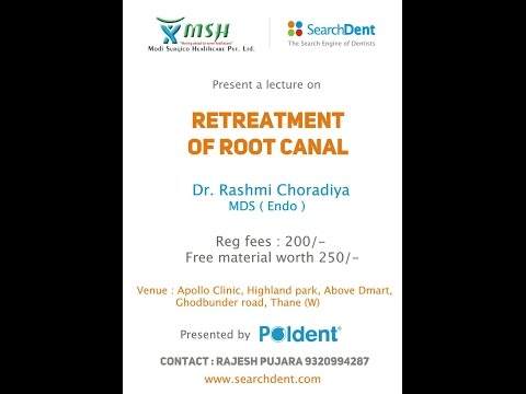 Re-Root Canal Treatment