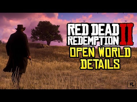 Red Dead Redemption 2: OPEN WORLD DETAILS - How Rockstar Is Making It Even Better!